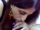 Indian GF blowjob to cum swallowing