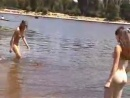 Teen in naturist beach Plage naturiste