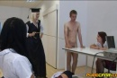 School teacher makes boy jack off in front of 2 gi...