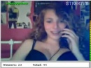 sex young girl chick stickam capture webcam  134