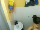 Indian cute Girl Hidden Bath