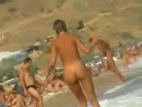 Hidden cam in the nudist beach