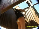 Voyeur changing room at beach  Russian girls 1006
